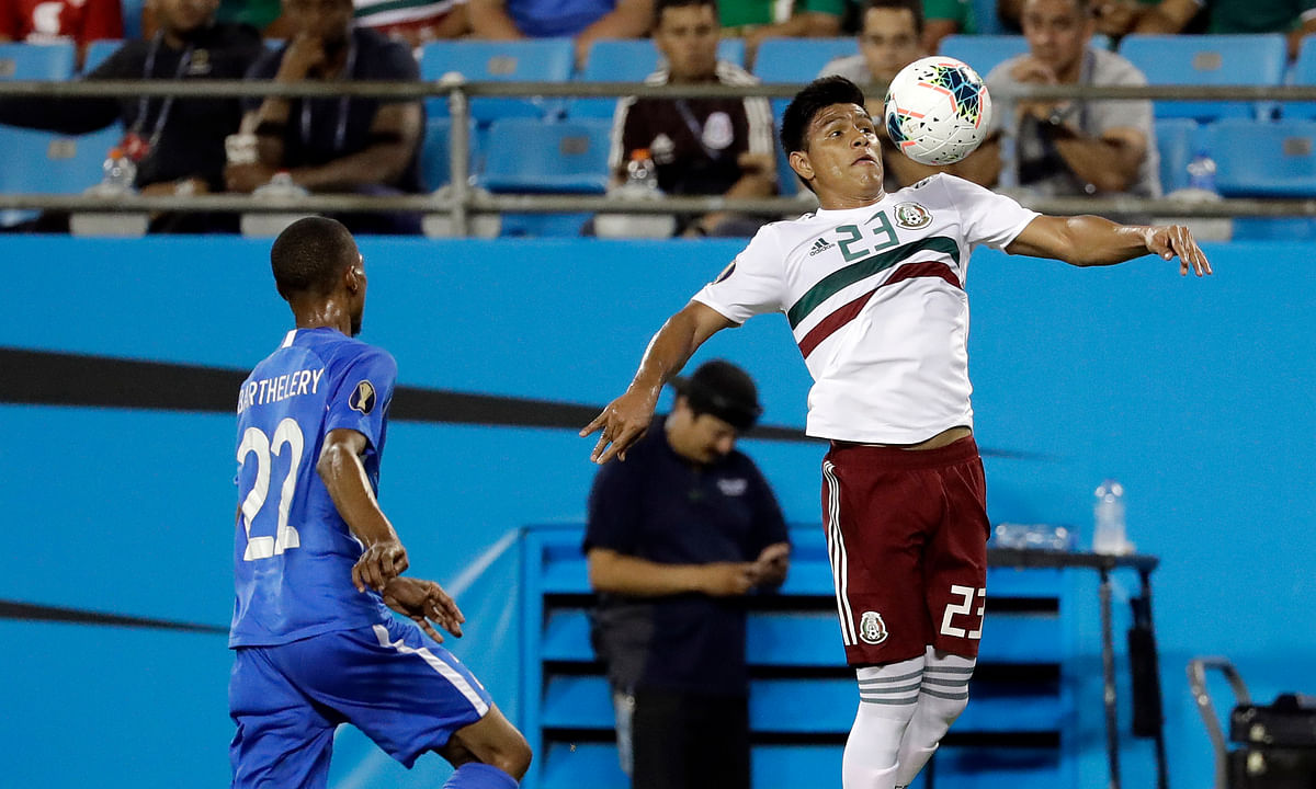 Gold Cup Groups: Mexico tops Martinique 3-2 to reach quarterfinals