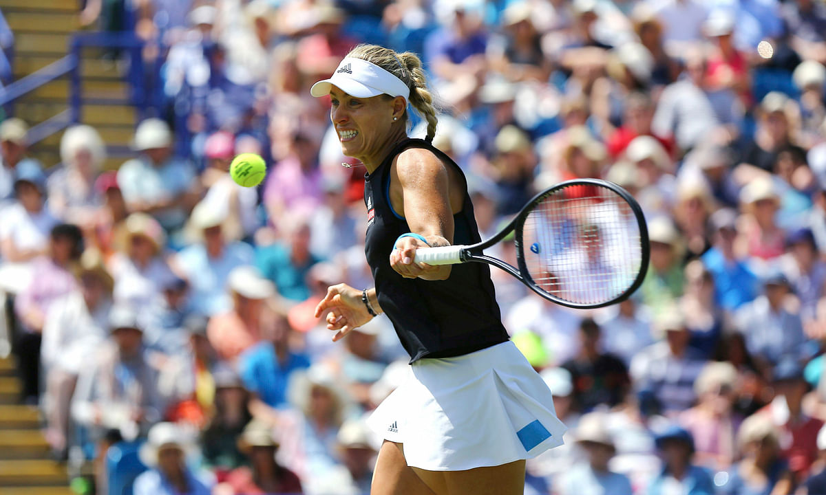 Defending Wimbledon champion Angelique Kerber to play Karolina Pliskova in Eastbourne final; Fritz to play Querrey on the men's side