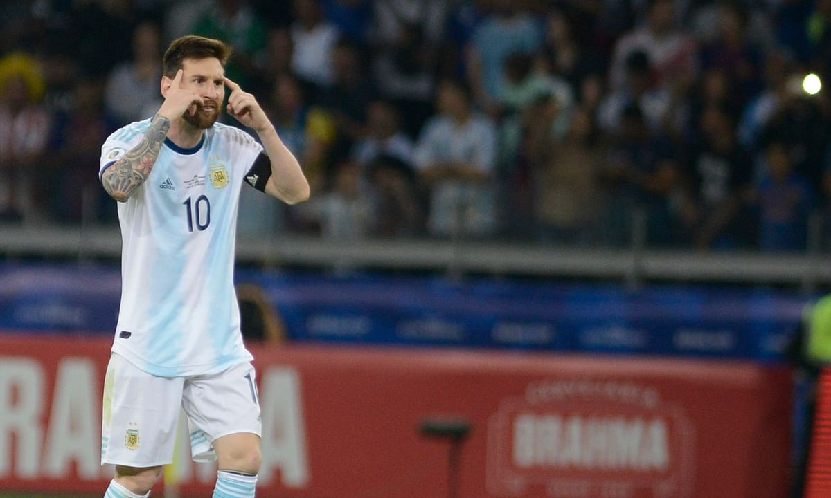 Messi scores but Argentina draws with Paraguay 1-1 at Copa America