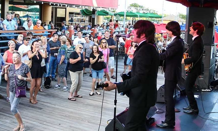 Golden Nugget Atlantic City celebrates Beatles-led revolution with free 'British Invasion' bash