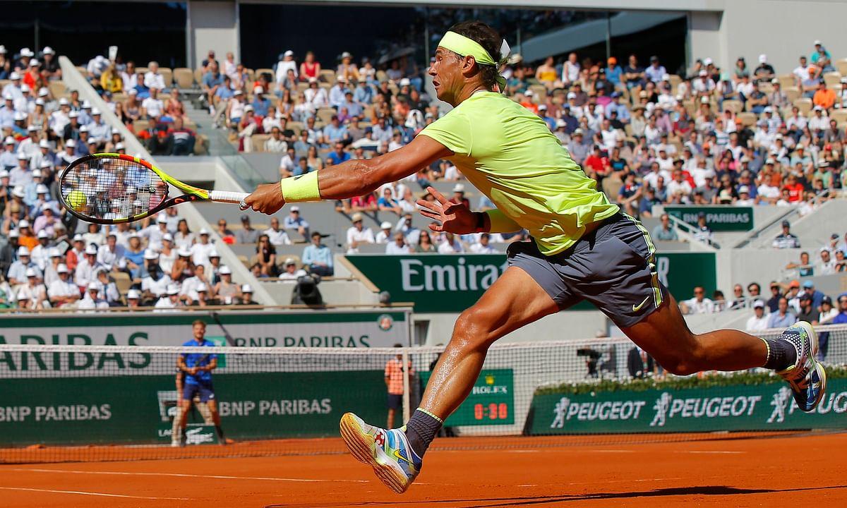 Tennis Sunday -- Abrams on French Open Men's Round of 16 . . . Tsitsipas, Nishikori, Paire, Federer,  Mayer, Nadal