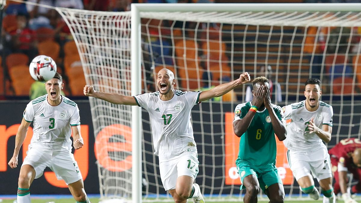 Algeria wins African Cup title with deflected goal 79 seconds in, beat Sadio Mane's Senegal 1-0
