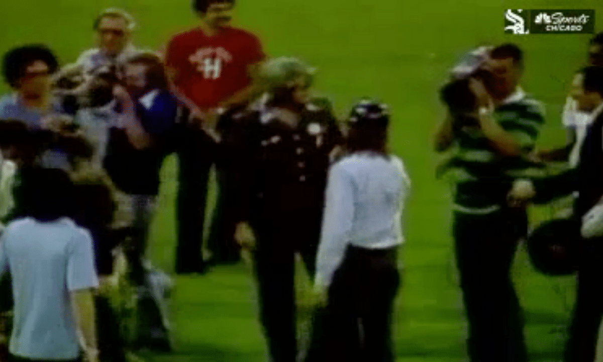 MLB Flashback: On this day in 1979, The Chicago White Sox Disco Inferno (video)