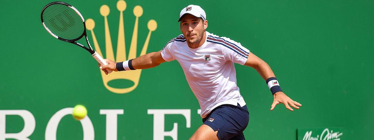 Dusan Lajovic plays today in the Plava Laguna Croatia Open.
