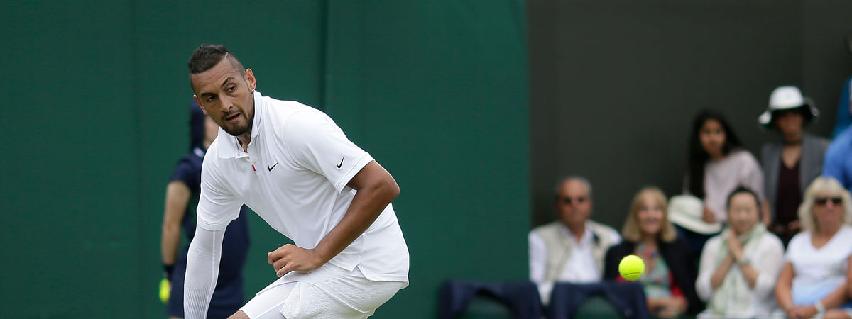 Australia's Nick Kyrgios should be a crowd favorite at the U.S. Open. (AP Photo/Tim Ireland)