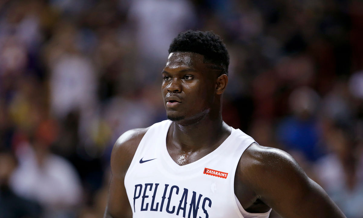 New Orleans Pelicans Zion Williamson.