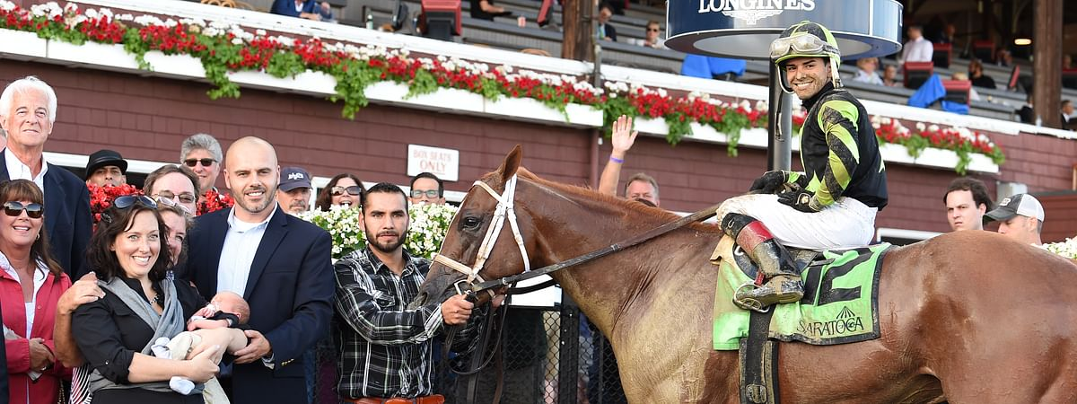 Celtic Chaos won the 2017 John Morrissey Stakes at Saratoga and Chris Garrity thinks he can also win the race in 2019.