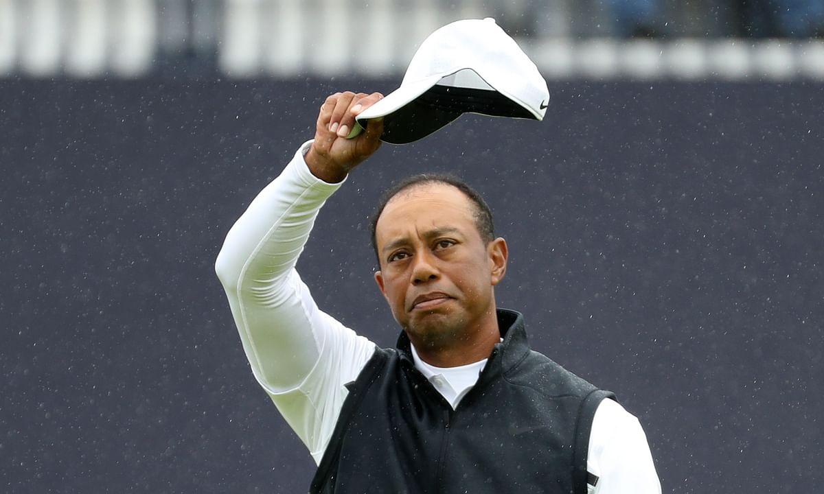 British Open update: Tiger Woods sure to miss weekend after bogey-bogey finish