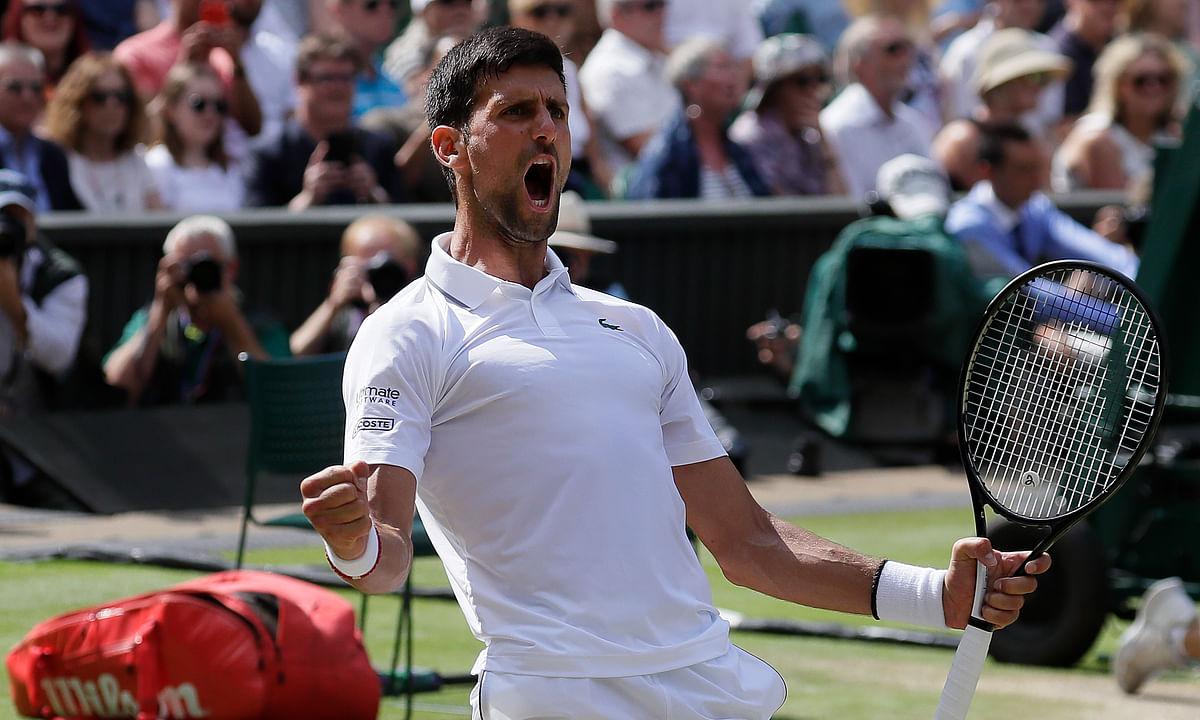 Wimbledon update: Novak Djokovic gets by Roberto Bautista Agut to reach 6th final