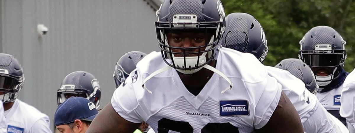 Seattle Seahawks defensive tackle Jarran Reed is coming off the best year of his career and was expected to be the leader of the defensive line after Seattle traded Frank Clark to Kansas City. Reed was suspended for the first six games of the season on Monday. (AP Photo/Ted S. Warren, File)