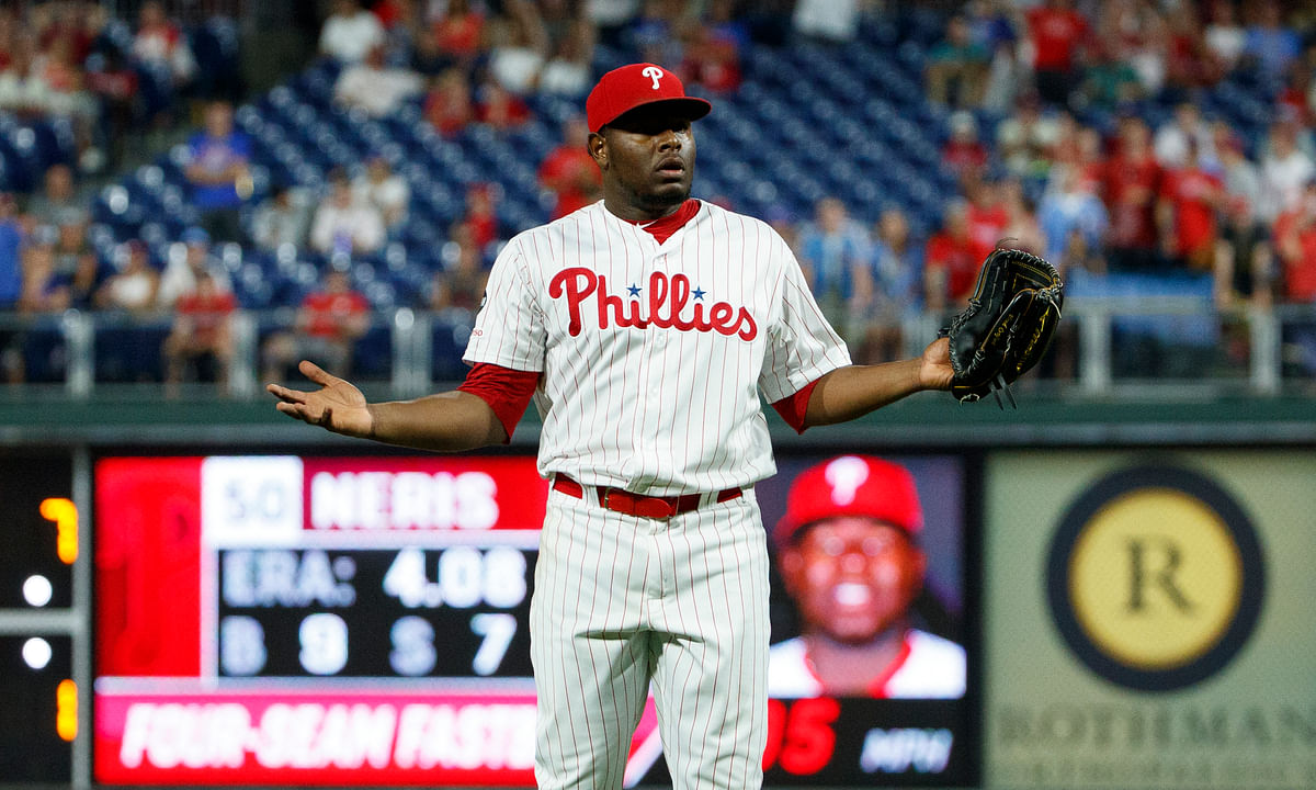 Philadelphia Phillies news: Hector Neris suspended for 3 games, Jay Bruce placed on injured list