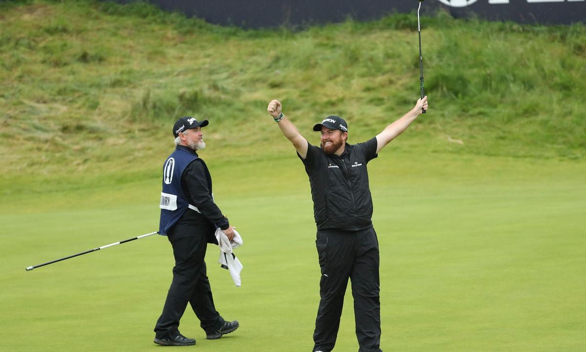 Shane Lowry wins British Open in celebrated return to Emerald Isle