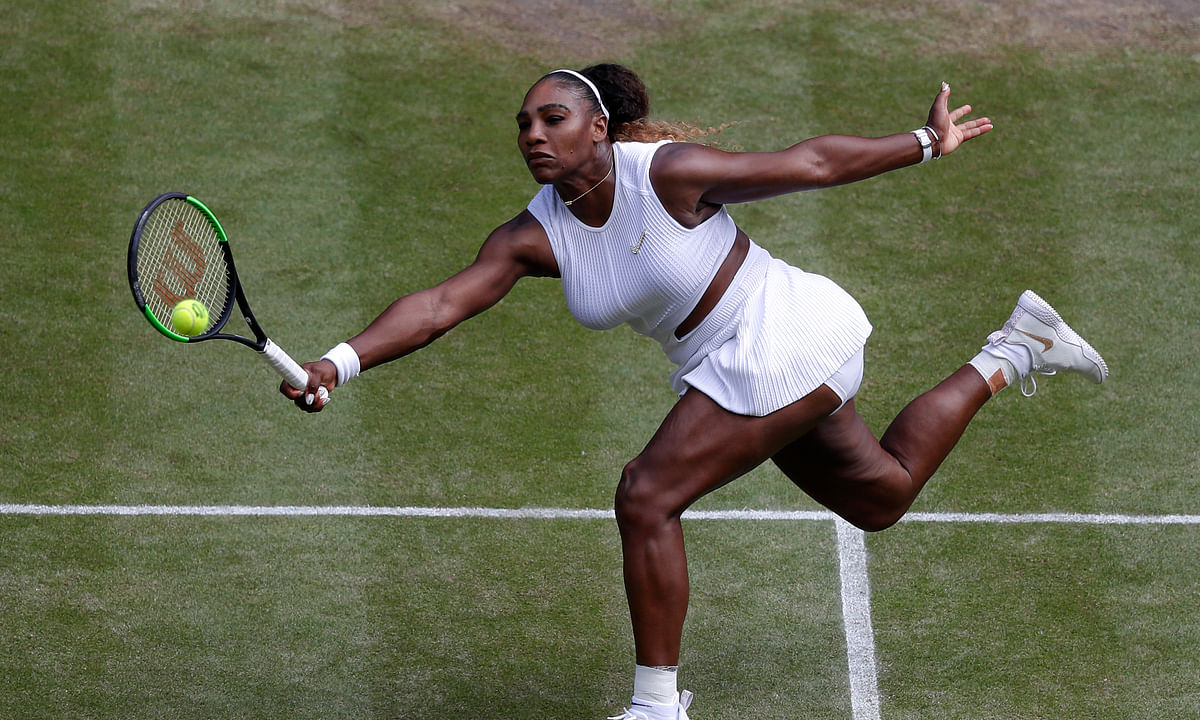 Abrams picks Serena Williams vs. Simona Halep in the Wimbledon Women's Final