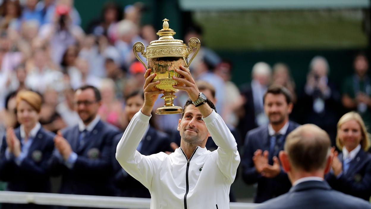 Novak Djokovic Wins 5th Wimbledon Title Edging Roger Federer In Epic 5 Set Final Updated