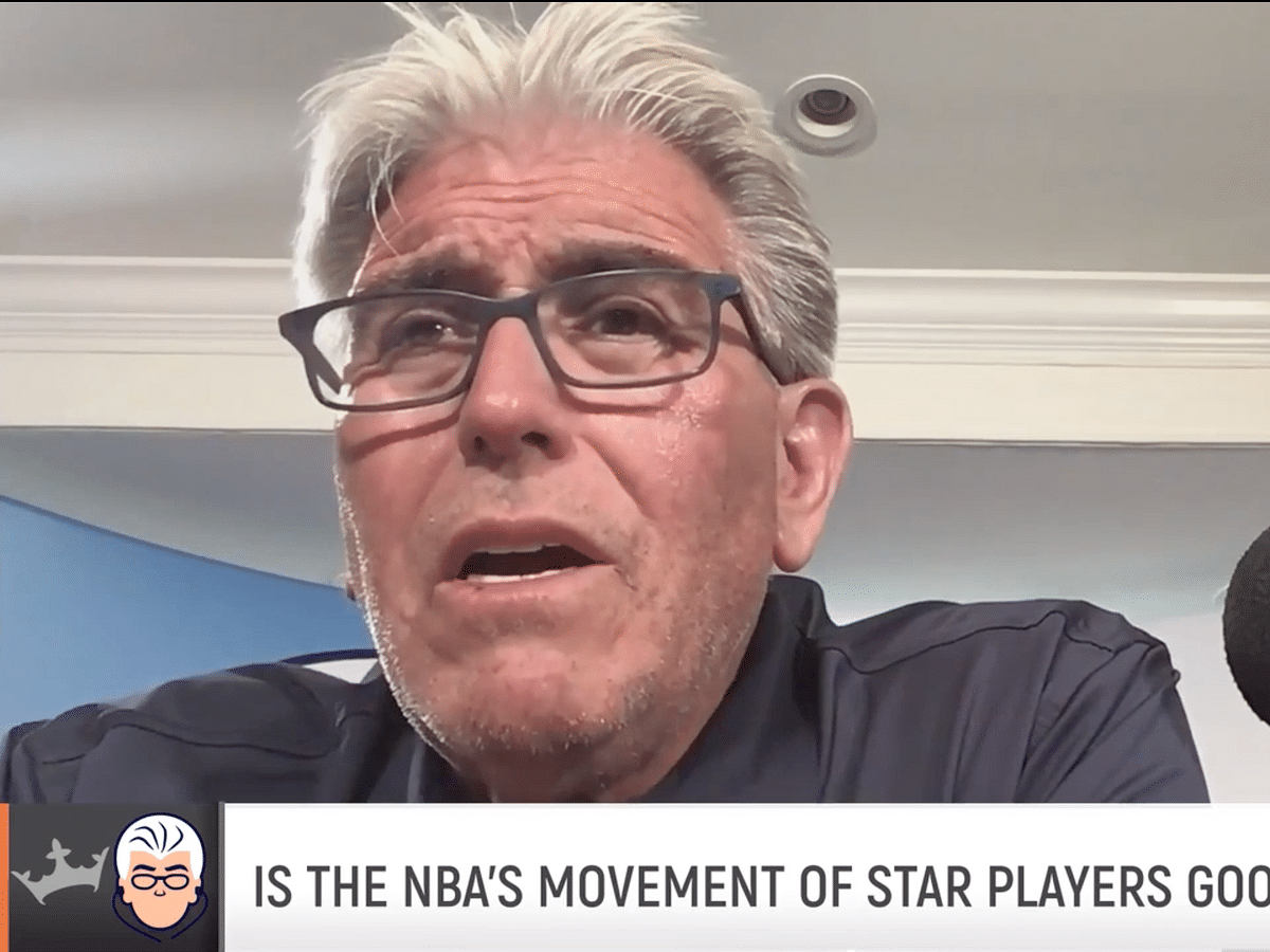 Is all this player movement good for the NBA? WFAN's Mike Francesa gives his opinion (video)