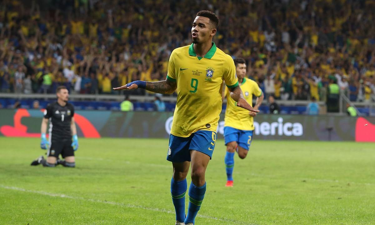 Brazil tops Argentina 2-0 in Copa America semifinals, will face winner of Peru vs. Chile – Jesus and Firmino score for Brazil