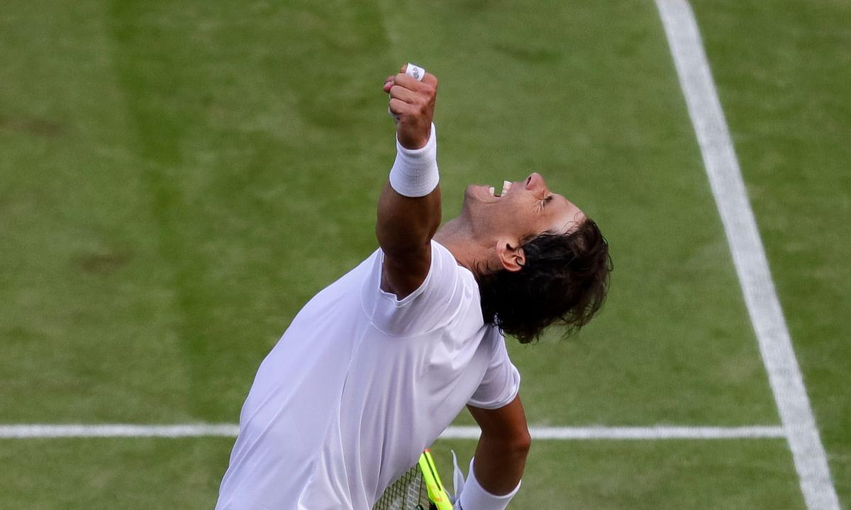 Roger Federer, Rafa Nadal to meet Friday in Wimbledon semis, their first match here since 2008; Novak Djokovic to meet Roberto Bautista Agut