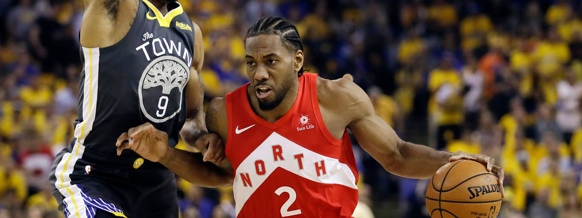 The North is heading south, Kawhi Leonard is expected to join the Los Angeles Clippers.  (AP Photo/Ben Margot, File)