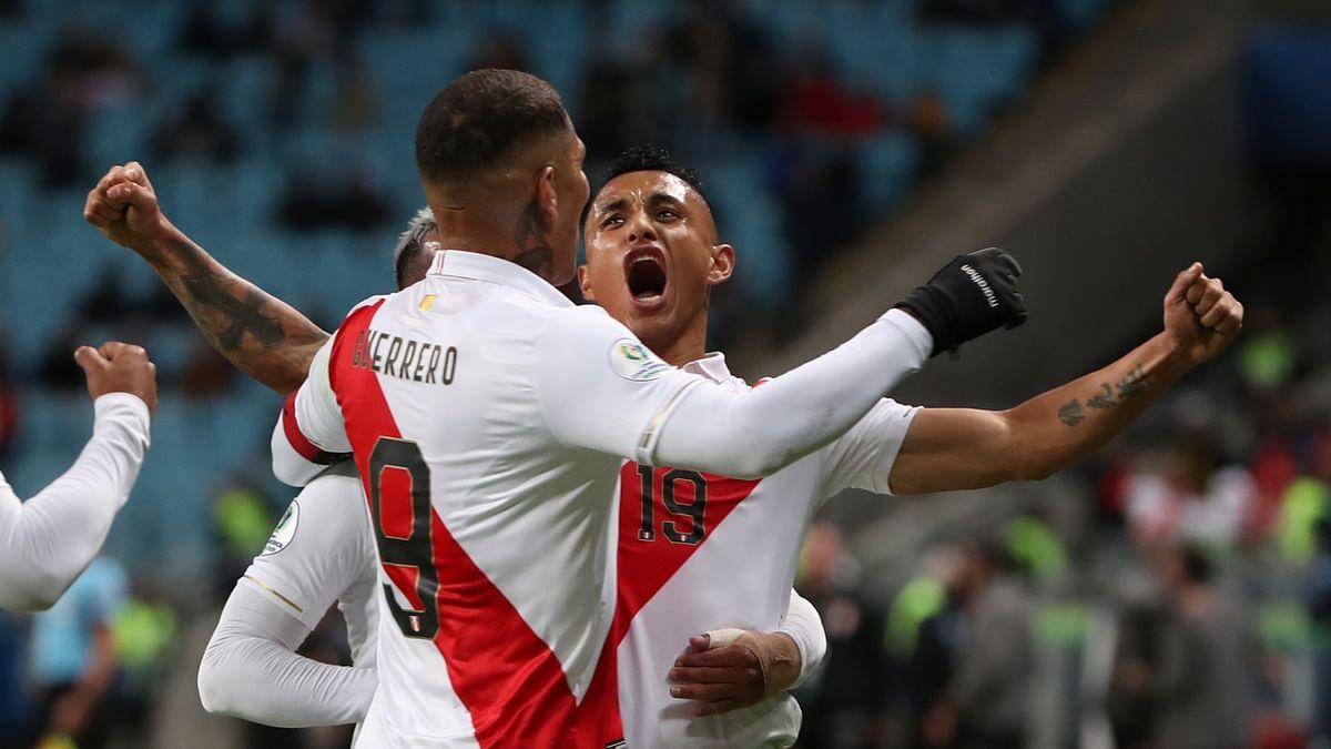 Peru shocks Chile 3-0 to reach Copa America final against Brazil