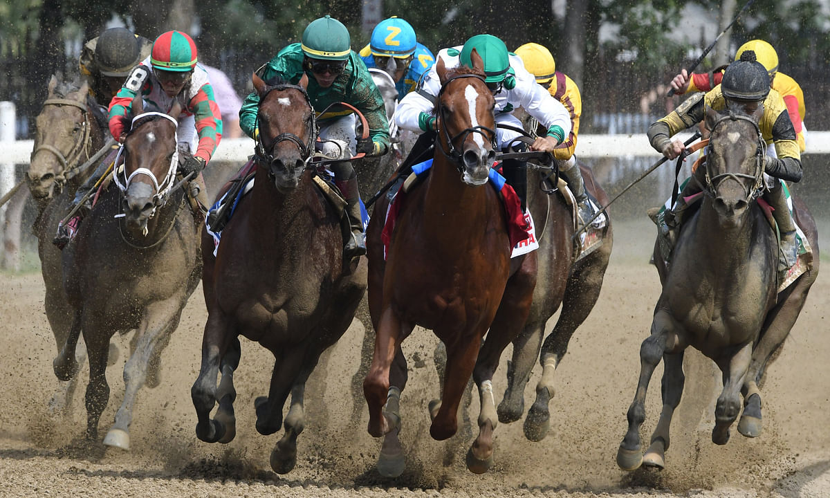 Thoroughbreds Saturday -- Garrity Picks Stakes Races at Belmont Park, Delaware Park, Cross Country Pick 5