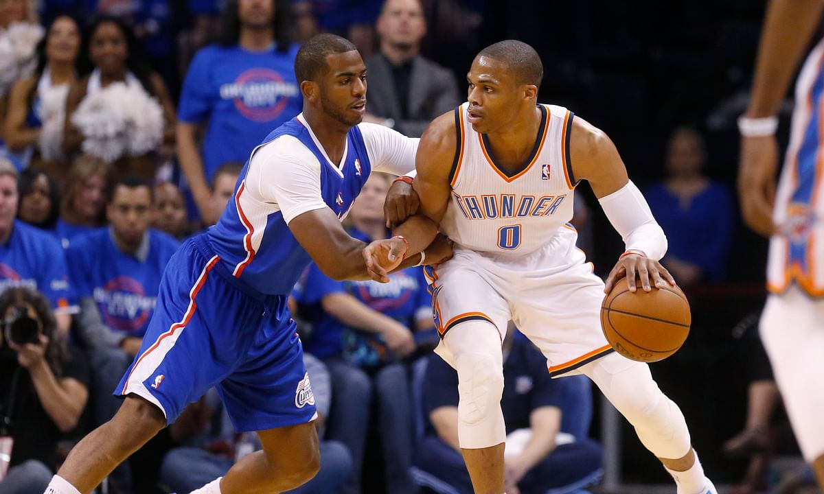 Russell Westbrook trade: Thunder acquire Chris Paul from Rockets in swap of All-Star point guards, per source