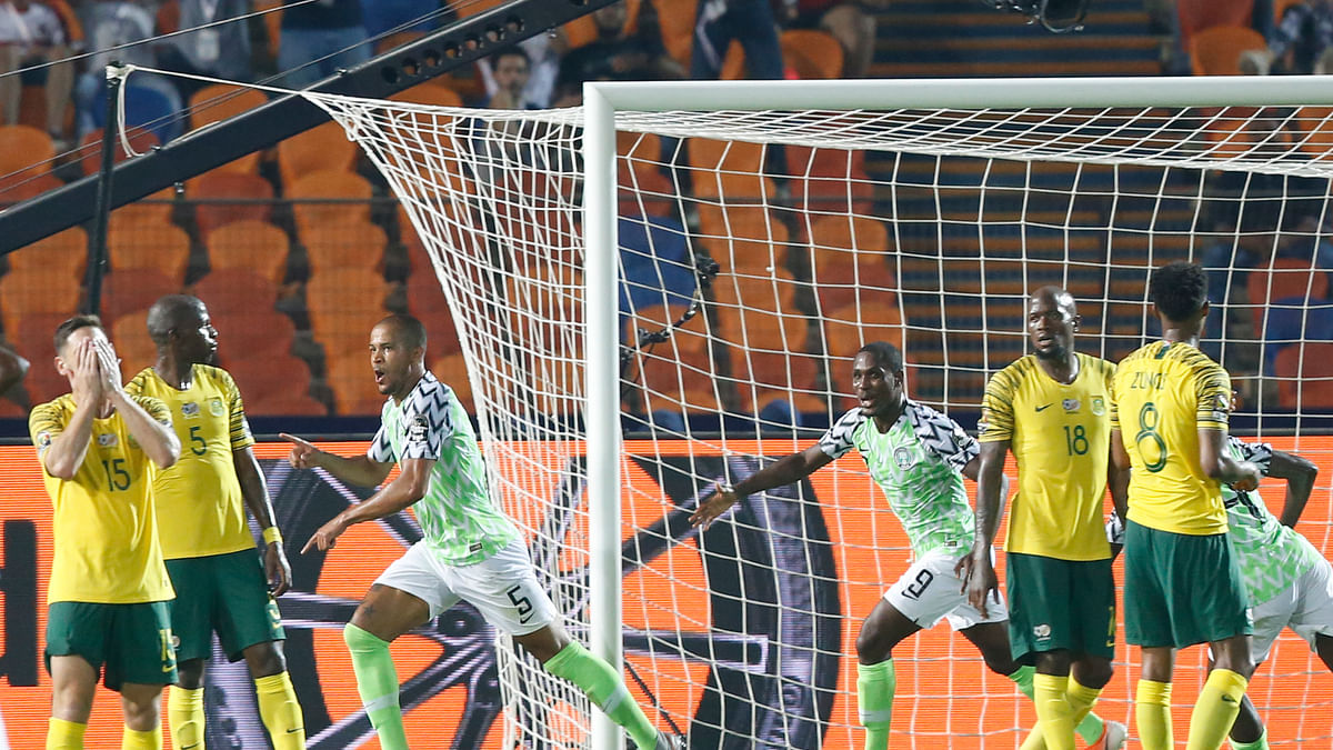 At African Cup, Nigeria beats South Africa 2-1, Senegal beats Benin 1-0 – both winners advance to semifinals