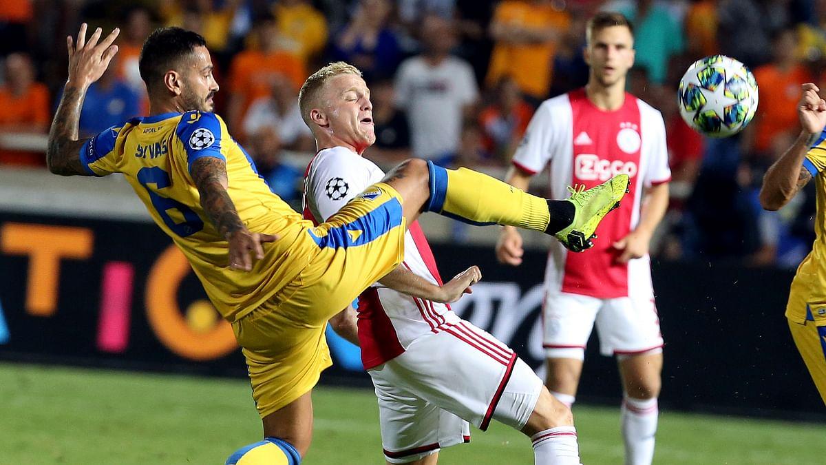 Soccer Wednesday in Europe: Miller picks Ajax vs APOEL, Club Brugge vs LASK, Slavia Prague vs CFR Cluj-Napoca, and Rad Beograd vs Čukarički