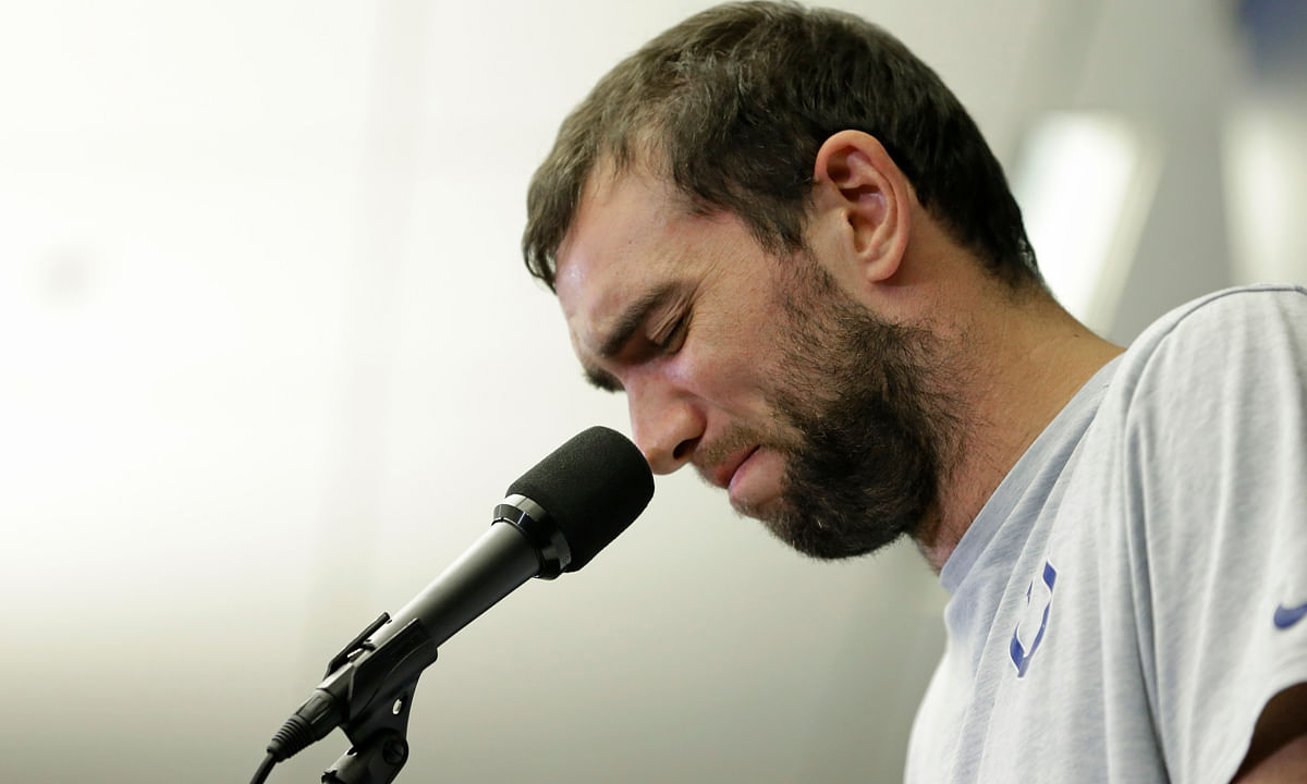 What effect does Andrew Luck's retirement have on the AFC South? Mims gives his take