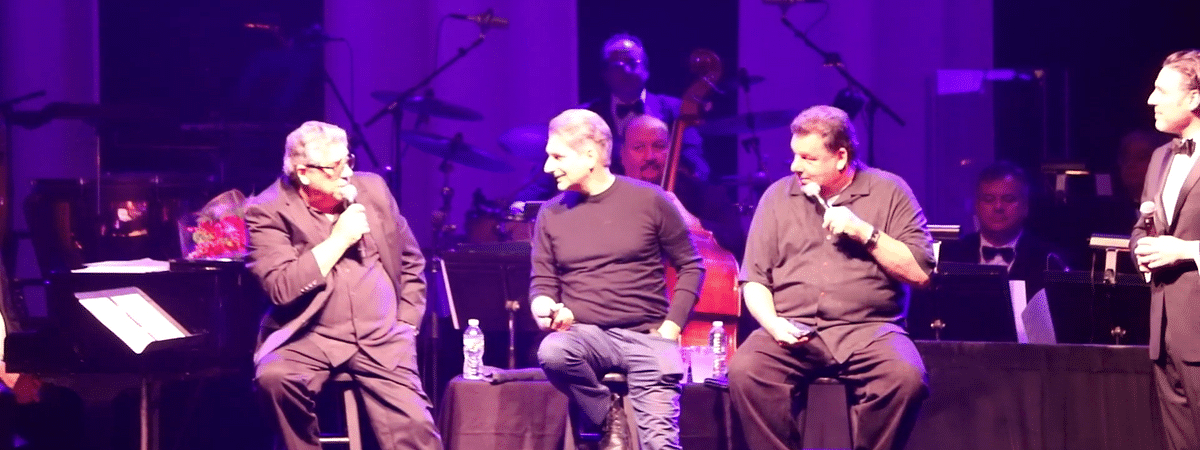 Vincent Pastore, Michael Imperioli, Steve Schirripa, and Bill Spadea