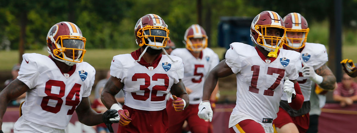 The Redskins will become the first NFL team to have a gambling-focused telecast of their games, offering cash prizes to viewers who correctly predict in-game outcomes during the preseason. The telecasts on the regional cable network NBC Sports Washington will follow a formula established by the Redskins' NBA neighbors, the Washington Wizards. (AP Photo/Steve Helber, File)