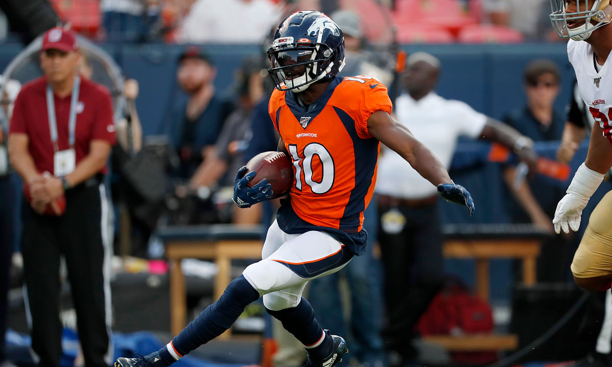 Fantasy Life NFL Preview: 2019 Denver Broncos – Is Emmanuel Sanders healthy enough to trust in week 1?