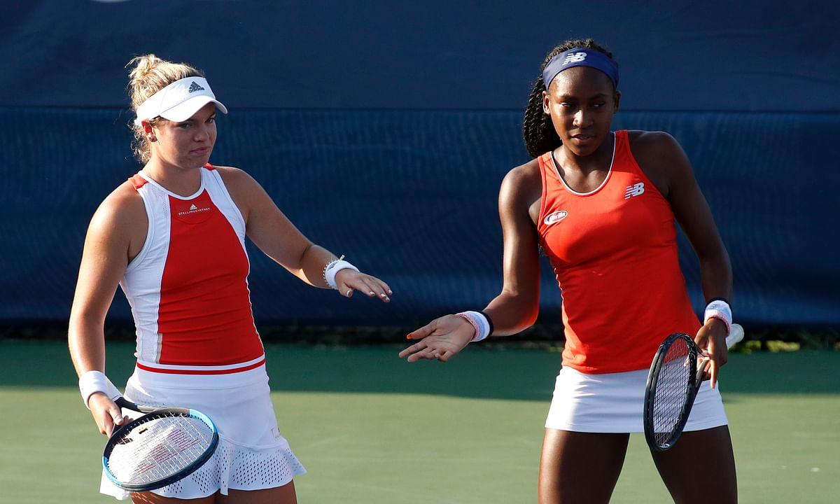 Tennis: US teenagers Coco Gauff, Caty McNally win Citi Open doubles