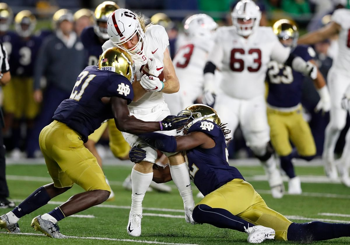 Kern rounds out Week 1 by picking Notre Dame vs. Louisville, Kansas vs. Indiana State, Wake Forest vs. Utah State, Houston vs. Oklahoma