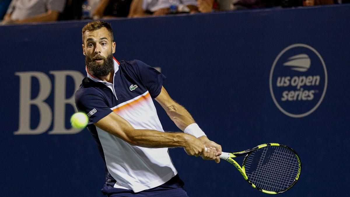 ATP Winston Salem Final: Abrams picks Benoit Paire vs Hubert Hurkacz