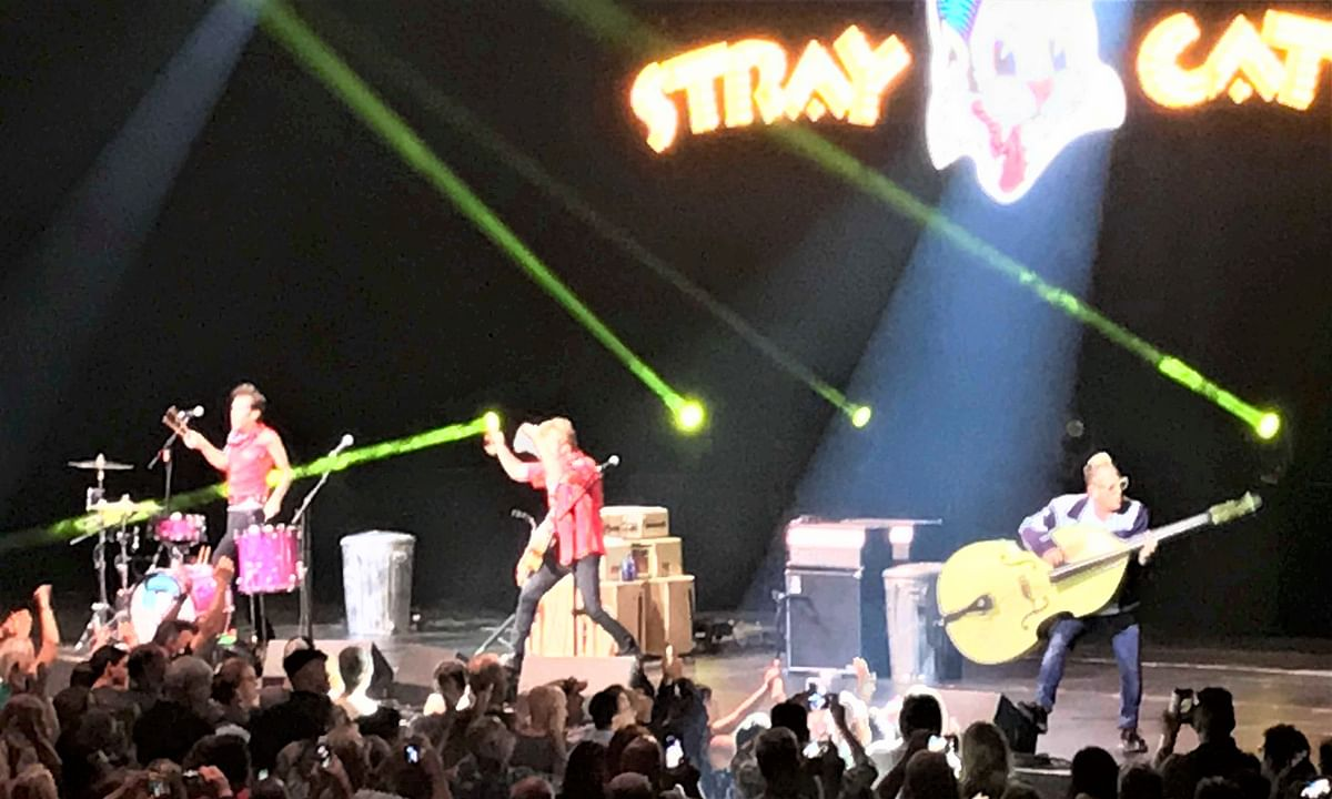 Review: Stray Cats return to Atlantic City for a rip-roaring rockabilly party at Ocean Casino Resort