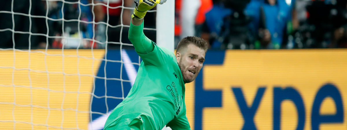 A freak injury to backup Liverpool goalie Adrian, pictured, may force the team to play 35-year-old free agent goalie Andy Lonergan.  (AP Photo/Thanassis Stavrakis)