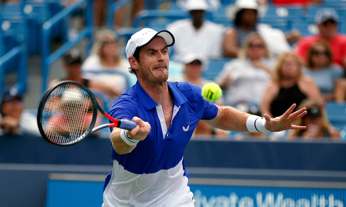 Andy Murray loses in first round at Cincinnati in singles return, as Nadal, Anisimova, Andreescu pull out