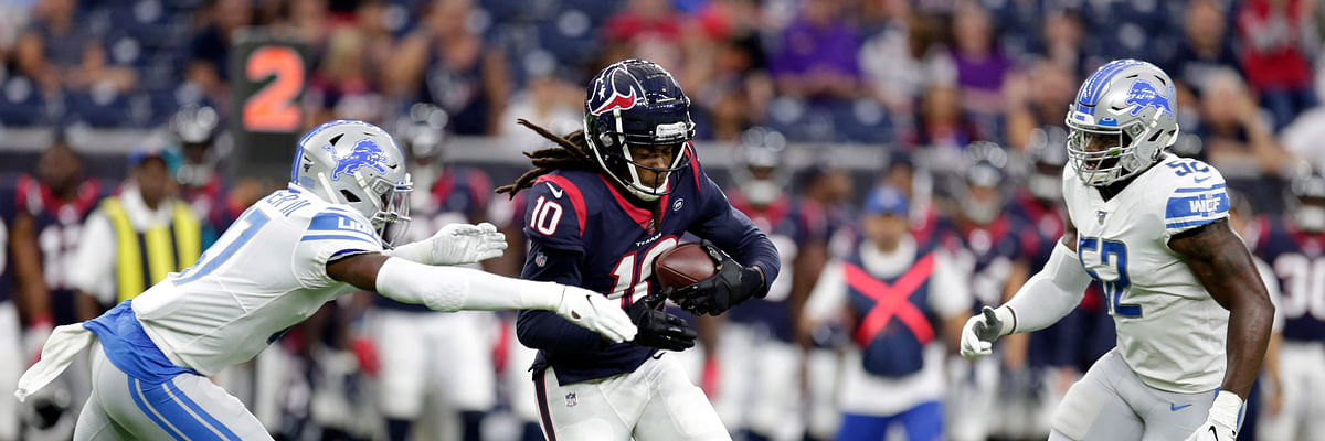 Fantasy Life NFL Preview: 2019 Houston Texans – DeAndre Hopkins leads an elite WR group