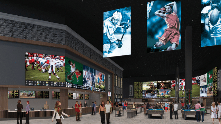 Bally's Atlantic City set to officially christen its new sports book, The Book, on Sunday with Chris Long, Hollis Thomas and Fred Barnett
