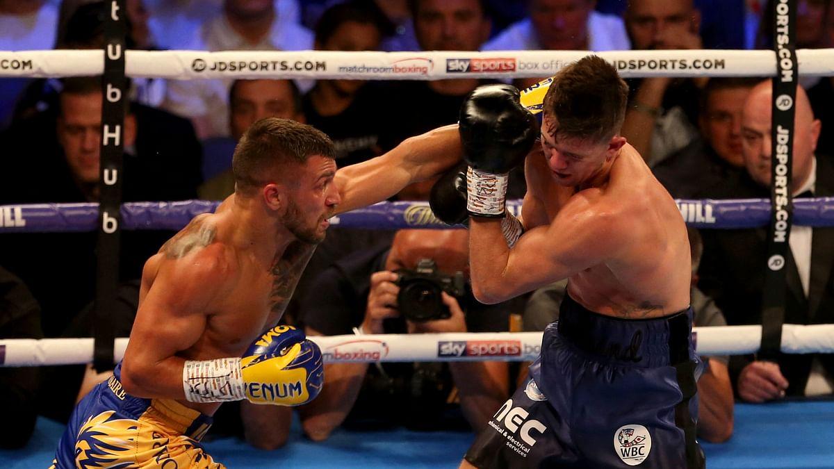 Vasyl Lomachenko beats Luke Campbell to claim WBC lightweight title