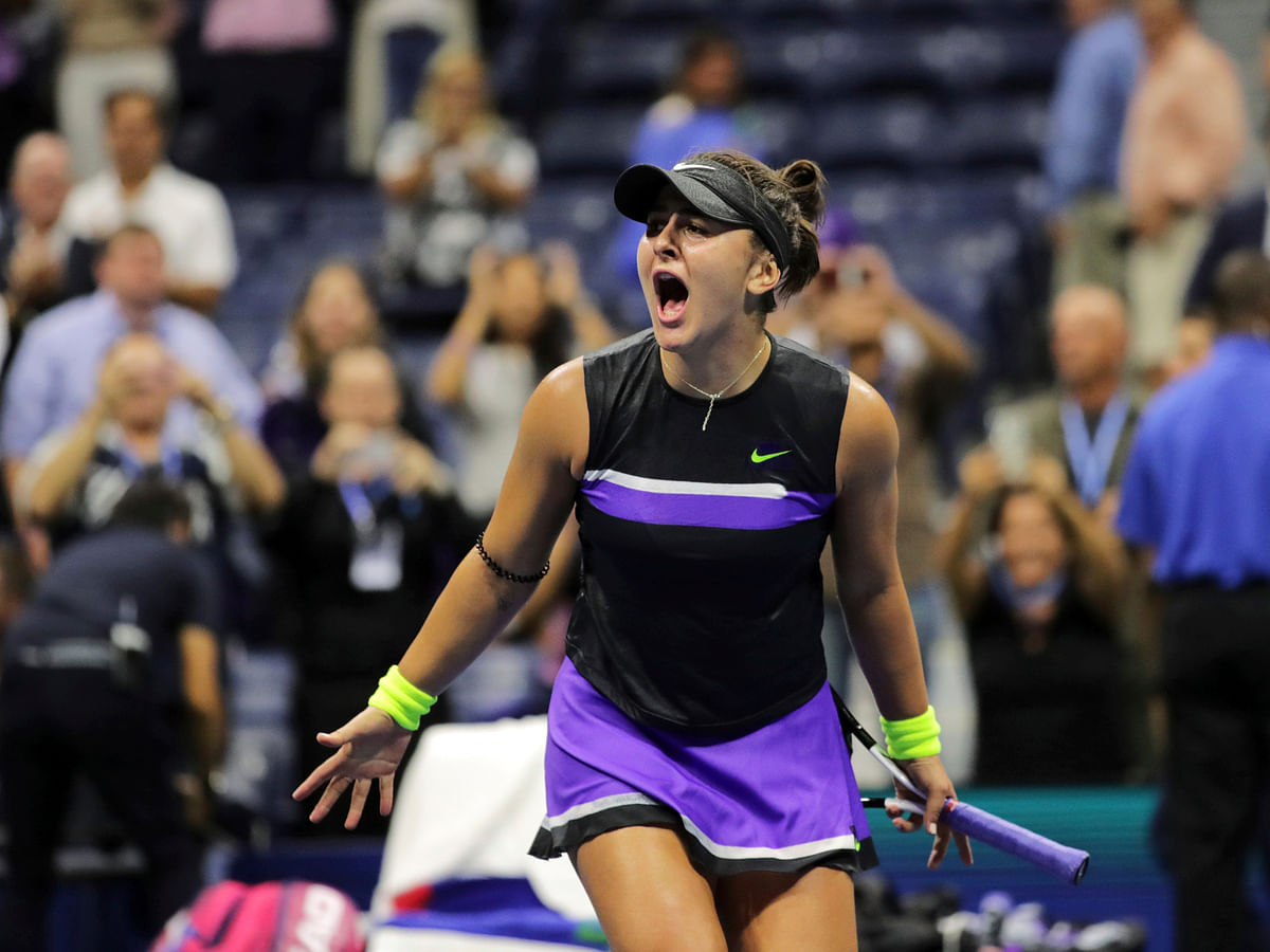 Bianca Andreescu is one of Neal Abrams' Top 5 young women's tennis stars to watch in 2020 (1 of 5)