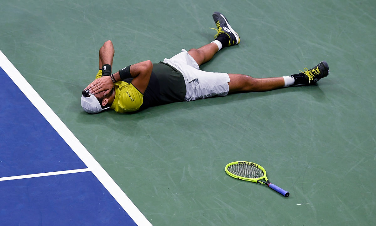 US Open 2019: Matteo Berrettini edges Gael Monfils for spot in semifinals
