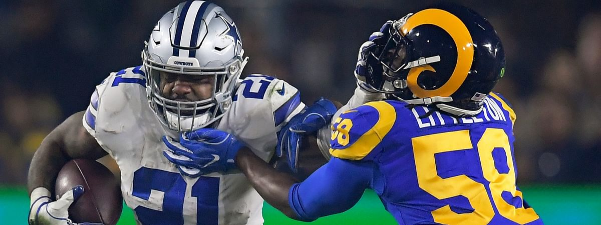 Dallas Cowboys running back Ezekiel Elliott's holdout clouds the expectations for a franchise longing to return to the Super Bowl for the first time since the last of five championships nearly 25 years ago. (AP Photo/Mark J. Terrill, File)