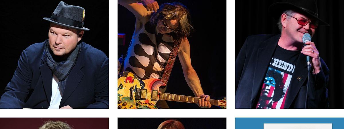 Top: Christopher Cross, Todd Rundgren, Micky Dolenz