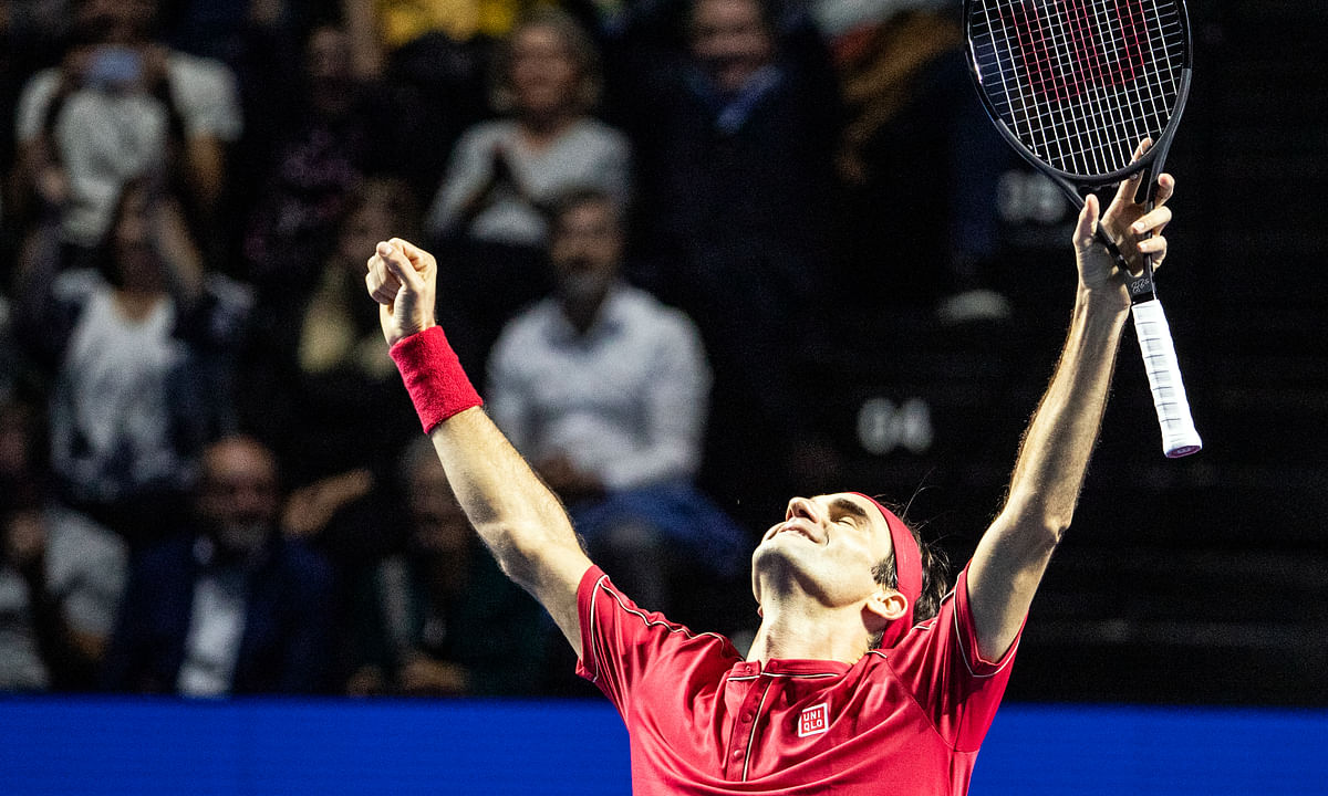 Tennis: Roger Federer dominates Alex De Minaur to win 10th Swiss Indoors title