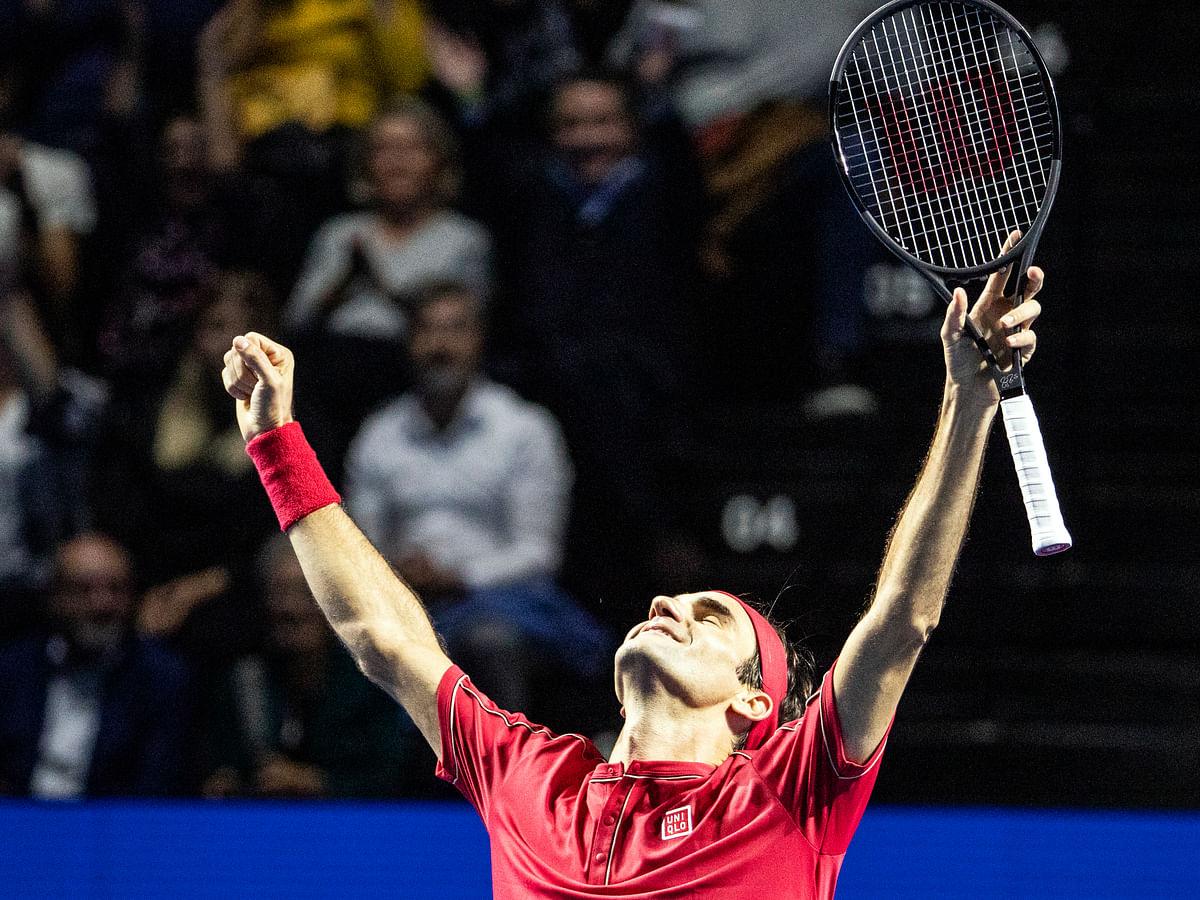 Tennis: Roger Federer dominates Alex De Minaur to win 10th Swiss Indoors title