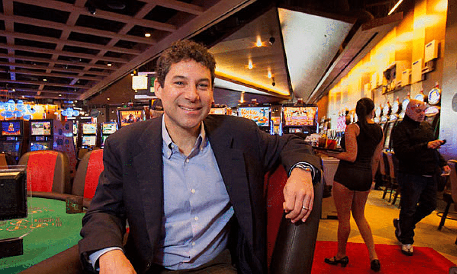 Greg Carlin, CEO of Rush Street Gaming, discusses rebranding SugarHouse to Rivers Philadelphia and more with Mims at G2E