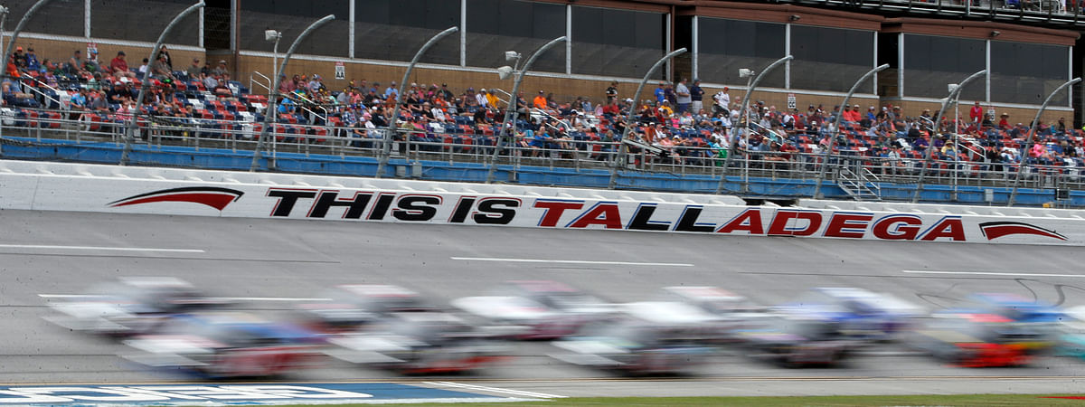 Talladega Superspeedway in Talladega, Ala. (AP Photo/Butch Dill)