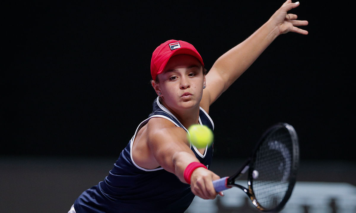Tennis upset: World No. 1 Ashleigh Barty beaten by Kiki Bertens at WTA Finals