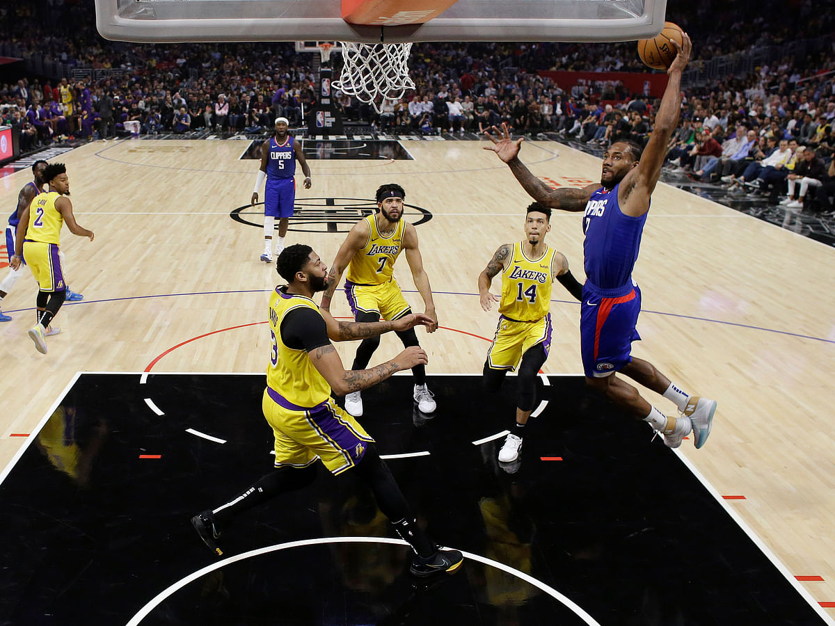 NBA: Kawhi leads Clippers over LeBron and Lakers 112-102